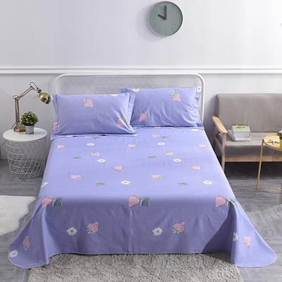 2019新款-细沙老粗布三件套 尺寸2.5×2.5(三件套) 莓香清清-紫