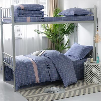 2019新款-暖绒儿童三件套 1.5m(5英尺)床 时尚风潮-蓝