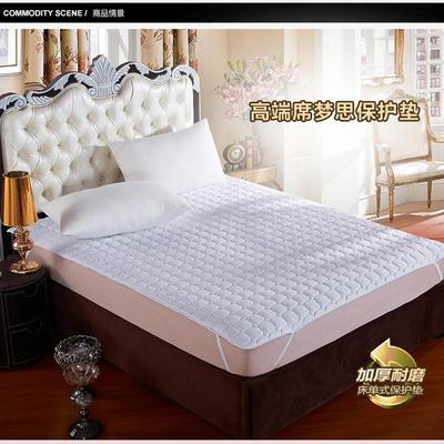 2019新款床护垫 90x200cm【定制】 白色