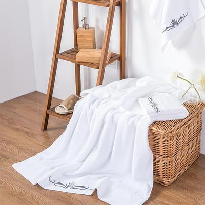 2019新款毛浴巾三件套 梦幻