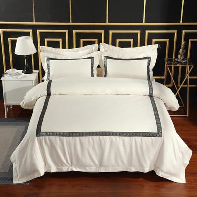 2019新款宾馆套件60x60支裸棉四件套系列酒店全棉纯棉四件套 1.5m-1.8m床单款 9