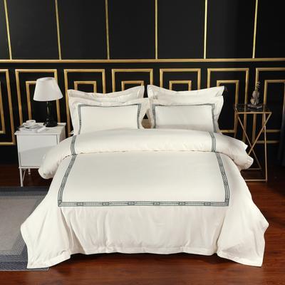 2019新款宾馆套件60x60支裸棉四件套系列酒店全棉纯棉四件套 1.5m-1.8m床单款 11