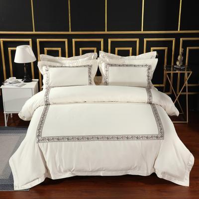 2019新款宾馆套件60x60支裸棉四件套系列酒店全棉纯棉四件套 1.5m-1.8m床单款 14