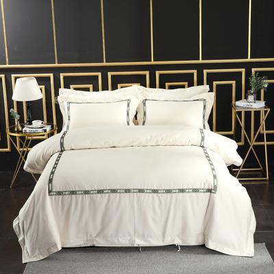 2019新款宾馆套件60x60支裸棉四件套系列酒店全棉纯棉四件套 1.5m-1.8m床单款 18