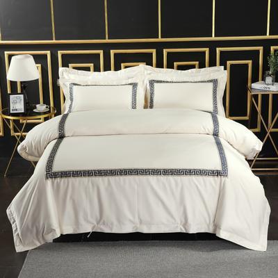 2019新款宾馆套件60x60支裸棉四件套系列酒店全棉纯棉四件套 1.5m-1.8m床单款 25