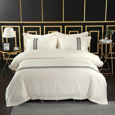 2019新款宾馆套件60x60支裸棉四件套系列酒店全棉纯棉四件套 1.5m-1.8m床单款 30