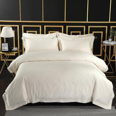 2019新款宾馆套件60x60支裸棉四件套系列酒店全棉纯棉四件套 1.5m-1.8m床单款 32
