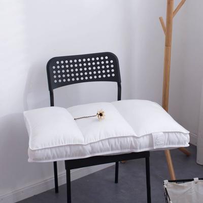 2019新款全棉宾馆酒店羽丝绒枕芯(47x74cm) 横线款