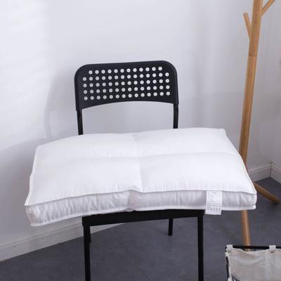 2019新款全棉賓館酒店羽絲絨枕芯(47x74cm) 十字款