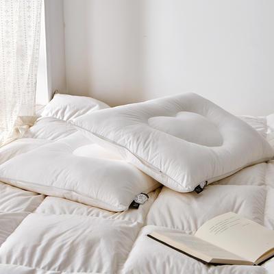 2020新款爱心定型枕枕头枕芯 中枕48*74cm