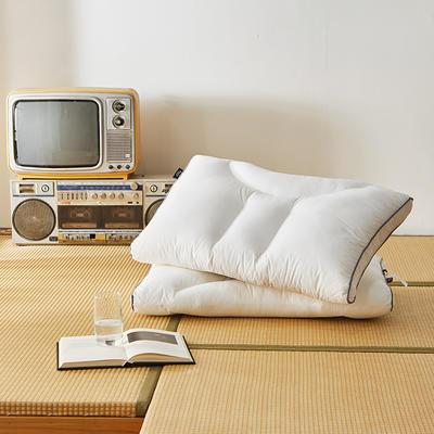 2020新款曲线护颈枕定型枕枕头枕芯 高枕48*74cm