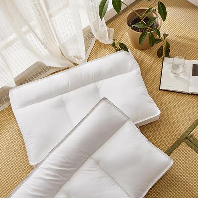 2020新款全棉护颈分区枕枕头枕芯 高枕48*74cm