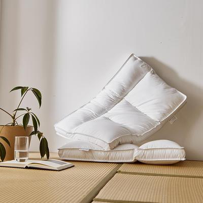 2020新款定型枕(总) 全棉护颈分区枕-中枕
