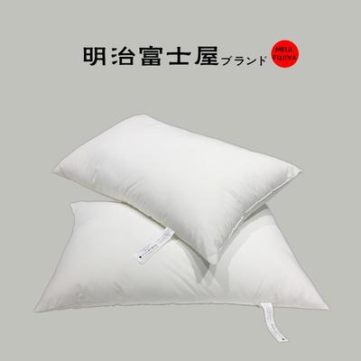 出口日本国民品牌 明治富士屋ブランド 枕头柔软枕芯 明治富士屋-硬感-填充800g