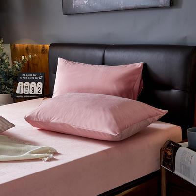 2019新款160g水晶绒枕套 48cmX74cm 022  粉色