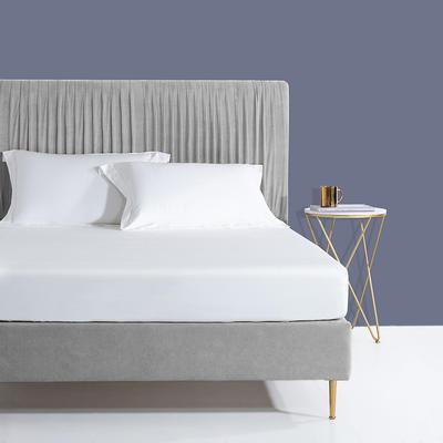 2019新款60s长绒棉枕套 48cmX74cm/对 珍珠白