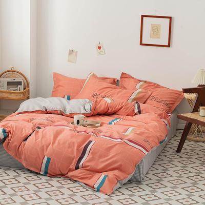 2020新款成人家居印花套件 1.0m(3.3英尺)床单款三件套 金色年华