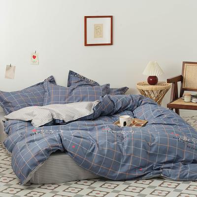2020新款成人家居印花套件 1.0m(3.3英尺)床单款三件套 甜蜜梦境