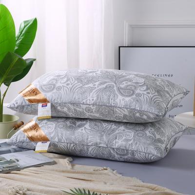 2019新款-特惠压缩枕头枕芯-银色凤尾 银色凤尾 42*70