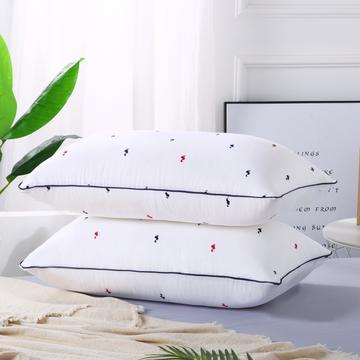 2019新款-特惠压缩枕头枕芯-红蓝小鹅
