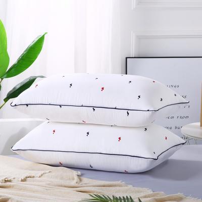 2019新款-特惠压缩枕头枕芯-红蓝小鹅 红蓝小鹅42*70