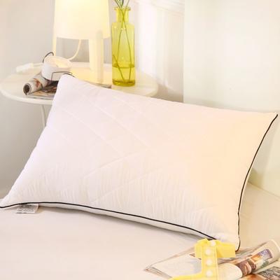 2019新款可水洗羽丝枕头枕芯 42*72(低枕)白色