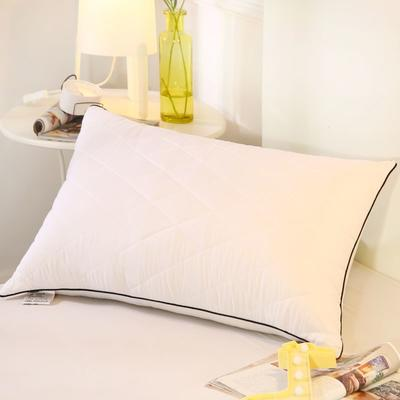 2019新款可水洗羽丝枕头枕芯 42*72(高枕)白色