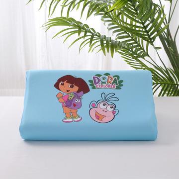 2019新款-儿童乳胶枕(数码印花)44*27*6