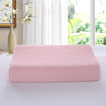 2019新款-莫代尔棉乳胶枕曲线平面款