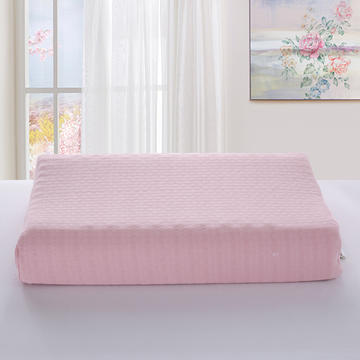 2019新款-竹节棉纯色乳胶枕