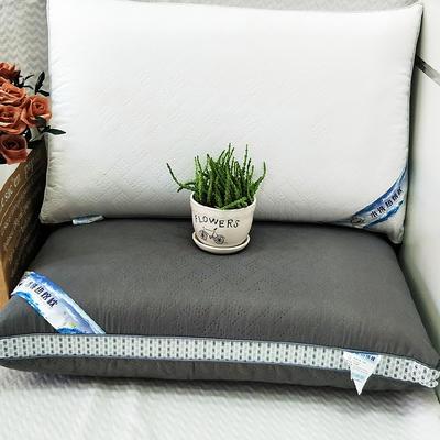 2019新款可水洗热熔枕护颈柔软枕芯 白 48*74