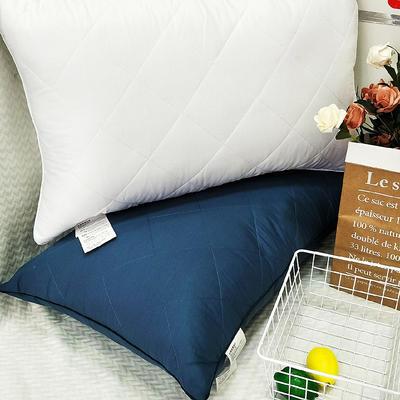 2019新款纯棉羽丝枕枕头枕芯 白48*74/只