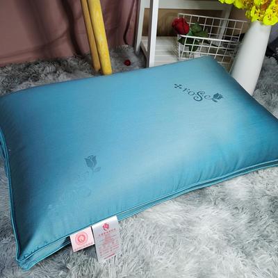 2020新款法國玫瑰精油護膚枕-48*74 藍