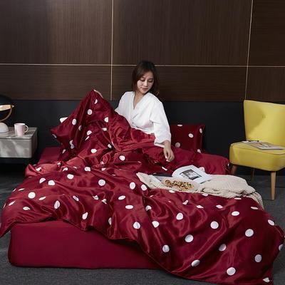2020新款-水洗真丝四件套 床单款三件套1.2m(4英尺)床 安吉洛