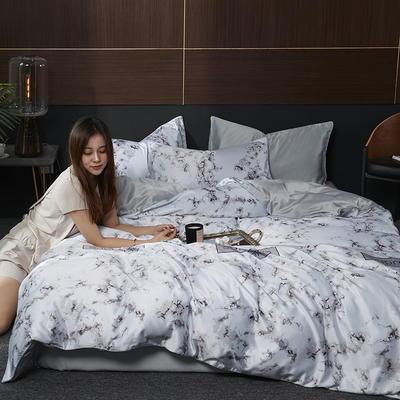 2020新款-水洗真丝四件套 床单款三件套1.2m(4英尺)床 罗利斯