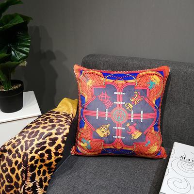 2019新款荷兰绒数码印花抱枕20 45x45cm(套子不含芯) BZ0156