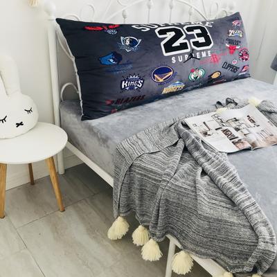 2020新款宝宝绒码印花卡通床靠背 150x60cm 23号