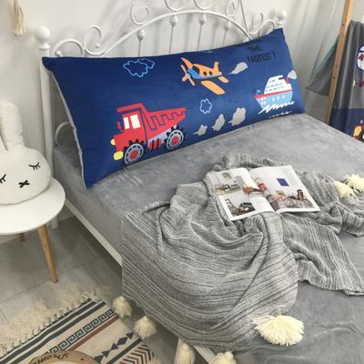 2020新款宝宝绒码印花卡通床靠背 150x60cm 海陆空