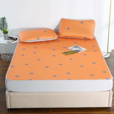 2021新款透感冰丝床笠三件套 120cmx200cm两件套 自由空间