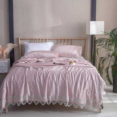 2019新款天丝夏被系列-莎菲 同款枕套/对48*74cm 紫
