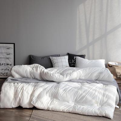 2019新款水洗棉保暖冬被 150x200cm(5斤) 白色