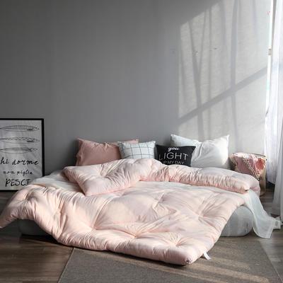 2019新款水洗棉保暖冬被 150x200cm(5斤) 玉色