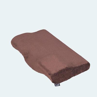 蝶形枕 天鹅绒 棕色50*30cm