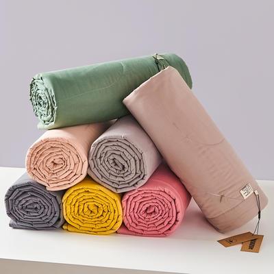 优选纯色棉花被 1.5*2.0米3.7斤 玫红