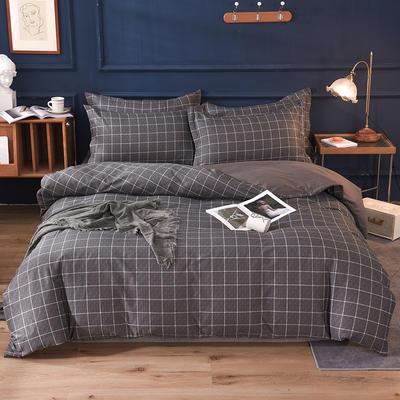2021新款128x68-40s精梳棉系列四件套 被套1.6+床单2.3+枕套2只(四件套) 米拉之城