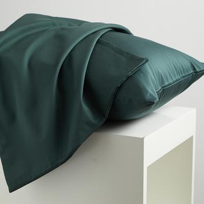 2020新款60纯色长绒棉枕套 单品 48cmX74cm 叶绿