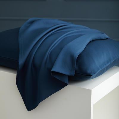 2020新款 天丝枕套 单品 48cmX74cm 黛蓝
