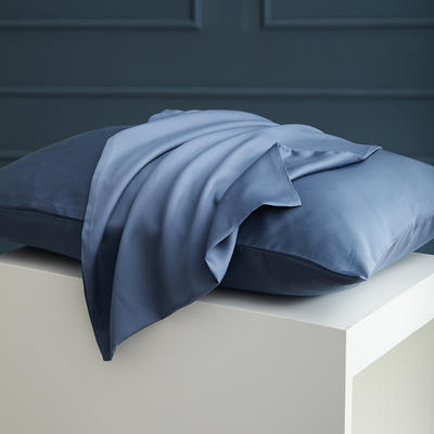 2020新款 天丝枕套 单品 48cmX74cm 石青