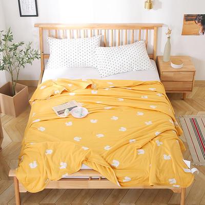 2020新款A类母婴级针织棉凉感夏被 150x200cm 小松鼠