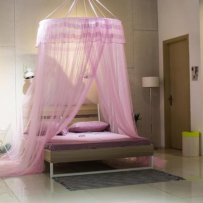 【文不叮】圆形中吊顶——御花园 2.0米床用 粉红